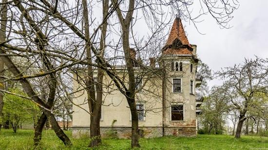 Abandoned villa in Nyzhankovychi, Lviv region, Ukraine, photo 11