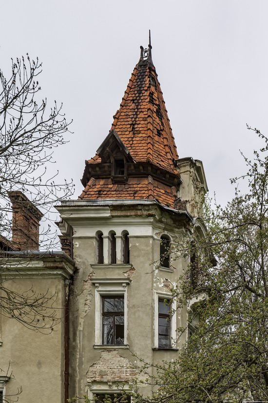 Abandoned villa in Nyzhankovychi, Lviv region, Ukraine, photo 13