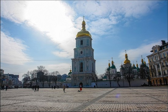 Bell Tower of Saint Sophia Cathedral in Kyiv, Ukraine, photo 1