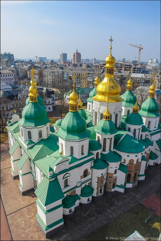Bell Tower of Saint Sophia Cathedral in Kyiv, Ukraine, photo 19