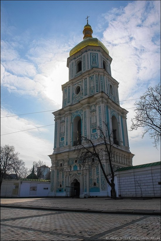 Bell Tower of Saint Sophia Cathedral in Kyiv, Ukraine, photo 2
