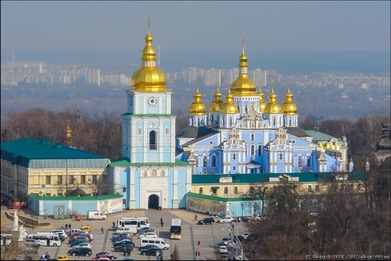 Bell Tower of Saint Sophia Cathedral in Kyiv, Ukraine, photo 20