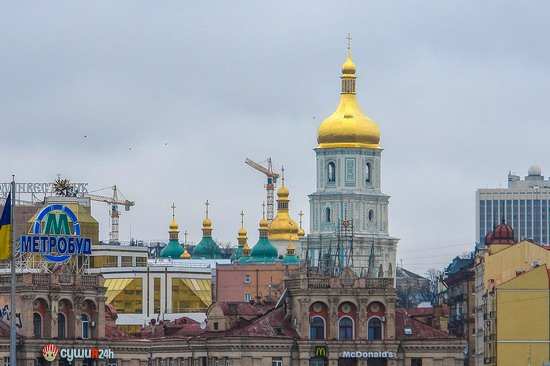Bell Tower of Saint Sophia Cathedral in Kyiv, Ukraine, photo 24