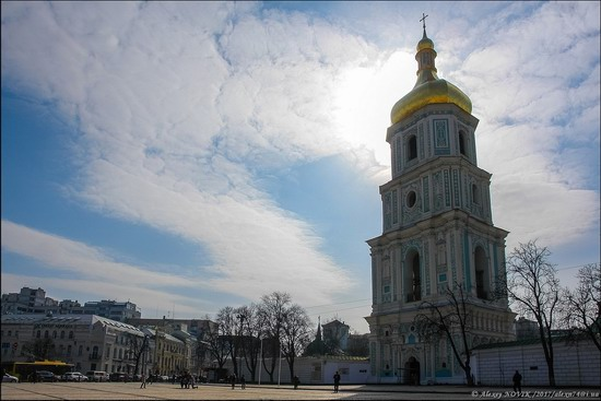 Bell Tower of Saint Sophia Cathedral in Kyiv, Ukraine, photo 25