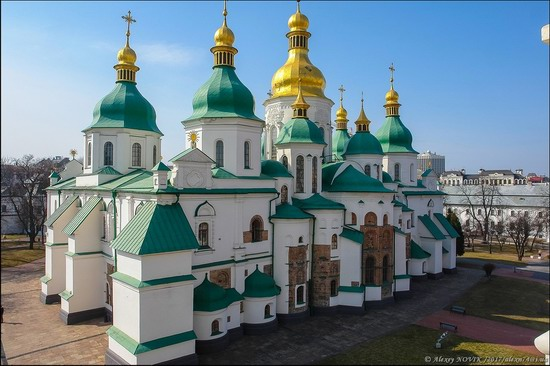 Bell Tower of Saint Sophia Cathedral in Kyiv, Ukraine, photo 4