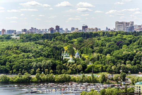 Center of Kyiv, Ukraine - the view from above, photo 1