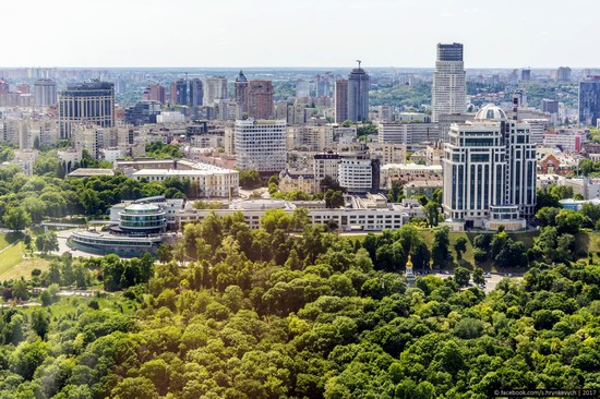 Center of Kyiv, Ukraine - the view from above, photo 10