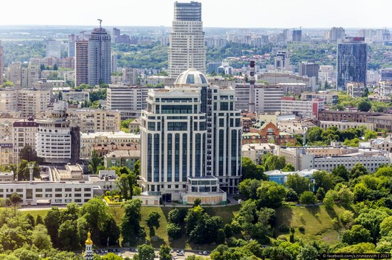 Center of Kyiv, Ukraine - the view from above, photo 11