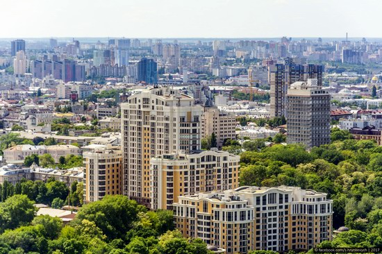 Center of Kyiv, Ukraine - the view from above, photo 12