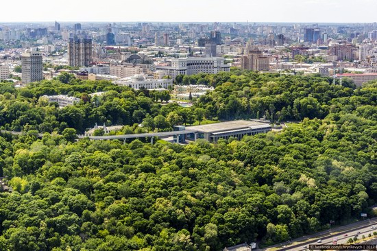 Center of Kyiv, Ukraine - the view from above, photo 13