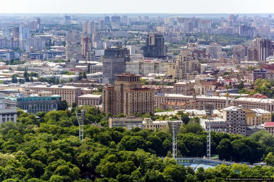Center of Kyiv, Ukraine - the view from above, photo 14