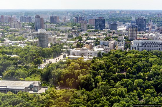 Center of Kyiv, Ukraine - the view from above, photo 15