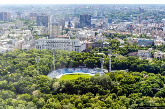 Center of Kyiv, Ukraine - the view from above, photo 17