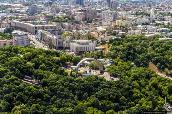 Center of Kyiv, Ukraine - the view from above, photo 18