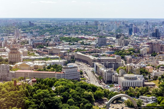 Center of Kyiv, Ukraine - the view from above, photo 19