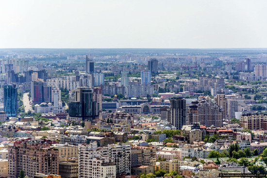 Center of Kyiv, Ukraine - the view from above, photo 20