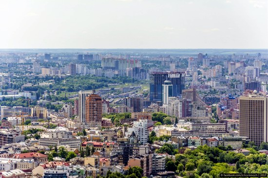 Center of Kyiv, Ukraine - the view from above, photo 21