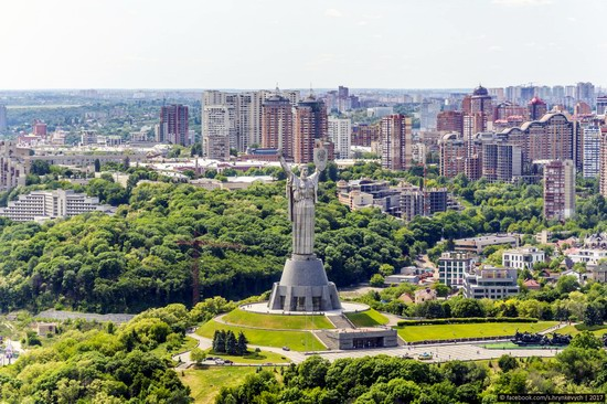 Center of Kyiv, Ukraine - the view from above, photo 3