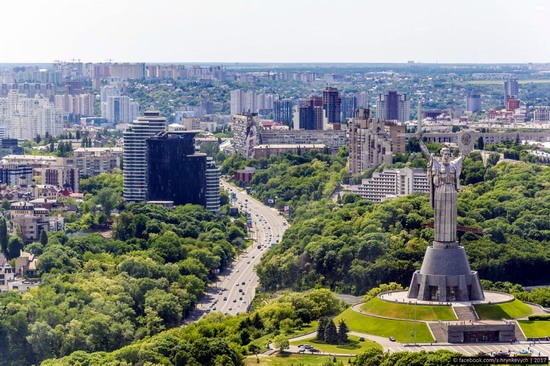 Center of Kyiv, Ukraine - the view from above, photo 4