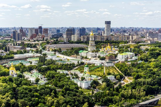 Center of Kyiv, Ukraine - the view from above, photo 5