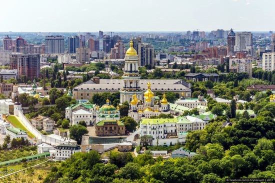 Center of Kyiv, Ukraine - the view from above, photo 6