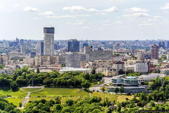 Center of Kyiv, Ukraine - the view from above, photo 7