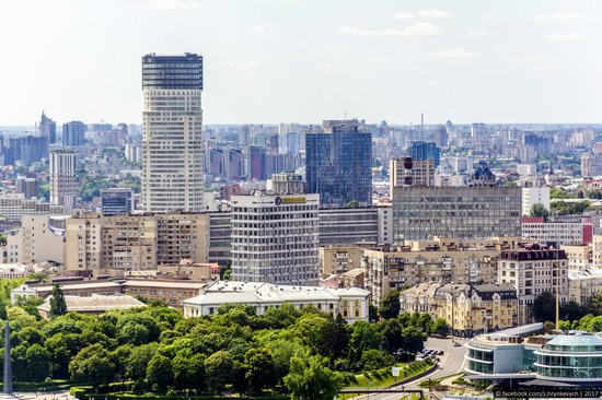 Center of Kyiv, Ukraine - the view from above, photo 8