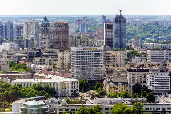 Center of Kyiv, Ukraine - the view from above, photo 9