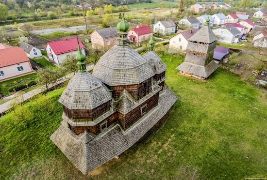 St. Michael Church in Komarno, Lviv region, Ukraine, photo 6