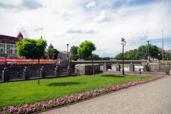 Summer in the center of Kharkiv, Ukraine, photo 23