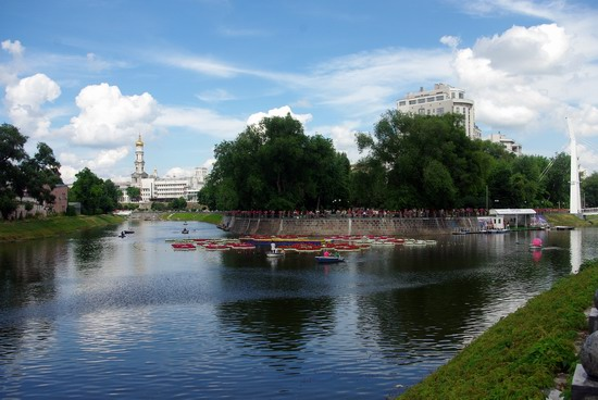 Summer in the center of Kharkiv, Ukraine, photo 7