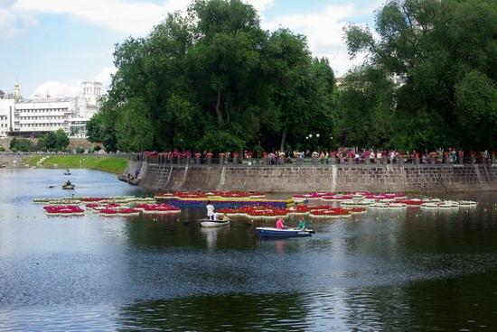 Summer in the center of Kharkiv, Ukraine, photo 8
