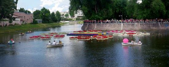 Summer in the center of Kharkiv, Ukraine, photo 9