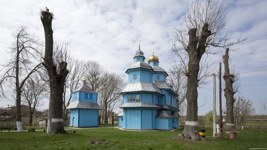 Holy Transfiguration Church in Tuchyn, Rivne region, Ukraine, photo 1