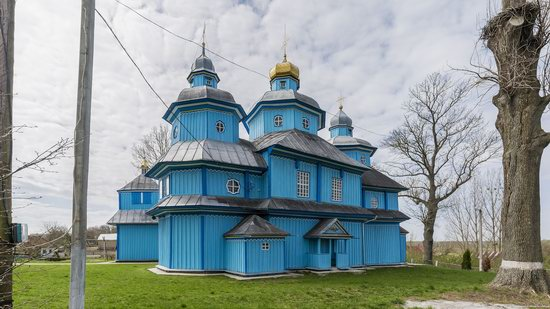 Holy Transfiguration Church in Tuchyn, Rivne region, Ukraine, photo 12