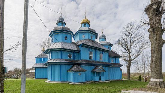 Holy Transfiguration Church in Tuchyn, Rivne region, Ukraine, photo 12
