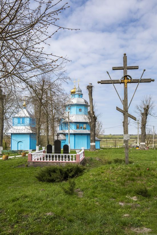 Holy Transfiguration Church in Tuchyn, Rivne region, Ukraine, photo 3