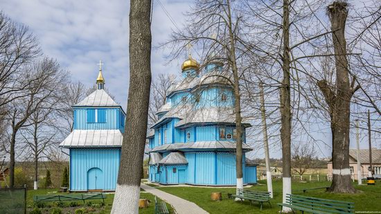 Holy Transfiguration Church in Tuchyn, Rivne region, Ukraine, photo 4