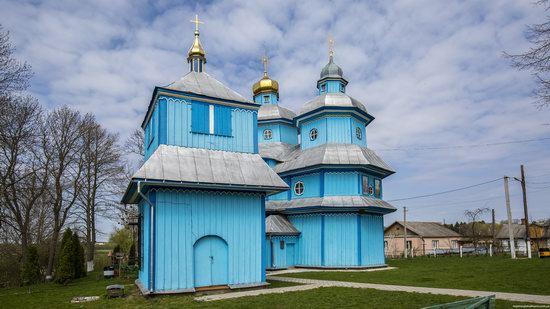 Holy Transfiguration Church in Tuchyn, Rivne region, Ukraine, photo 5