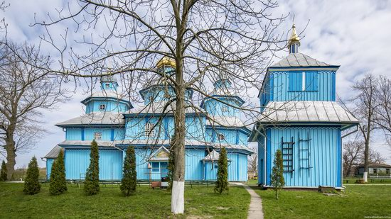 Holy Transfiguration Church in Tuchyn, Rivne region, Ukraine, photo 6