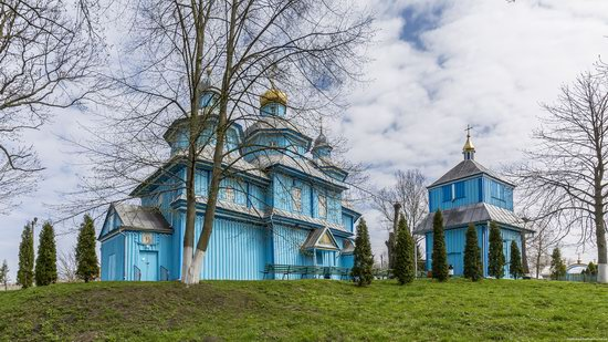 Holy Transfiguration Church in Tuchyn, Rivne region, Ukraine, photo 7