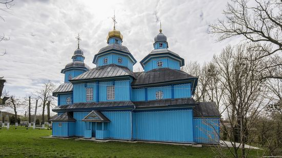Holy Transfiguration Church in Tuchyn, Rivne region, Ukraine, photo 8