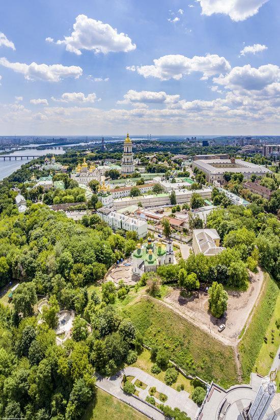 Kyiv Pechersk Lavra, Ukraine from above, photo 10