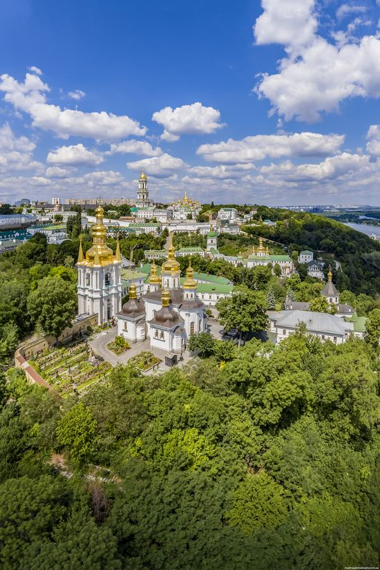 Kyiv Pechersk Lavra, Ukraine from above, photo 13