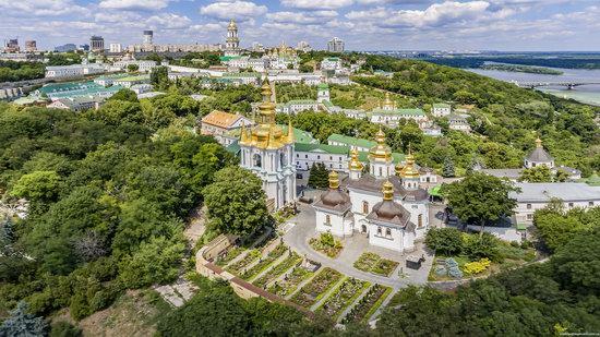 Kyiv Pechersk Lavra, Ukraine from above, photo 14