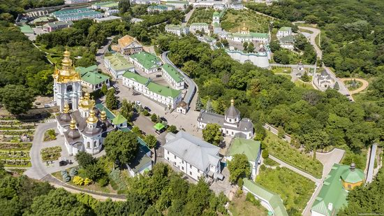 Kyiv Pechersk Lavra, Ukraine from above, photo 15