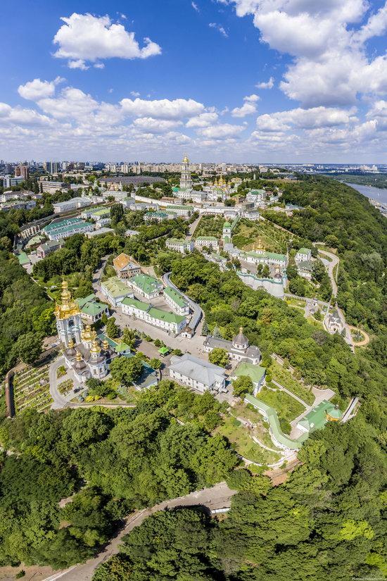 Kyiv Pechersk Lavra, Ukraine from above, photo 16