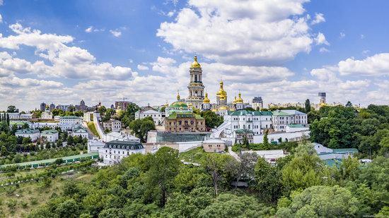 Kyiv Pechersk Lavra, Ukraine from above, photo 2