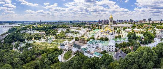 Kyiv Pechersk Lavra, Ukraine from above, photo 3