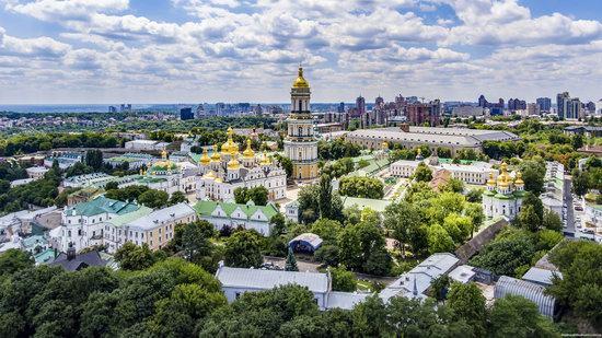 Kyiv Pechersk Lavra, Ukraine from above, photo 4